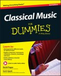 Classical Music For Dummies, David Pogue, Scott Speck