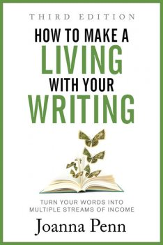 How to Make a Living with Your Writing, Joanna Penn