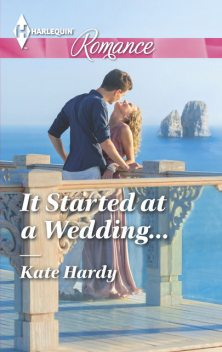 It Started at a Wedding, Kate Hardy