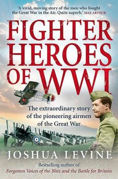 Fighter Heroes of WWI, Joshua Levine