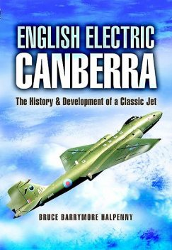English Electric Canberra, Bruce Barrymore Halpenny