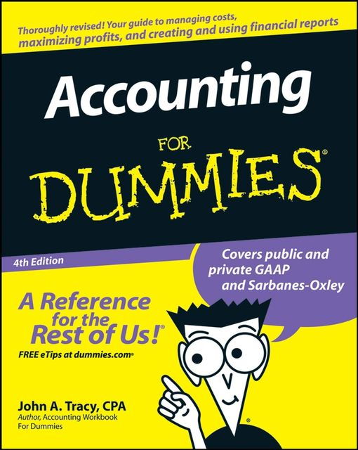 Accounting For Dummies, John A.Tracy