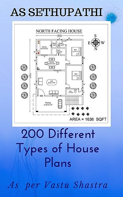 200 Different Types of House Plans, AS SETHUPATHI