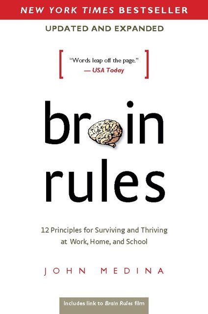 Brain Rules (Updated and Expanded), John Medina