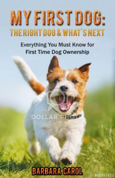 My First Dog: The Right Dog & What's Next, Barbara Carol