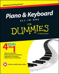 Piano and Keyboard All-in-One For Dummies, David Pearl, Holly Day, Jerry Kovarksy, Michael Pilhofer