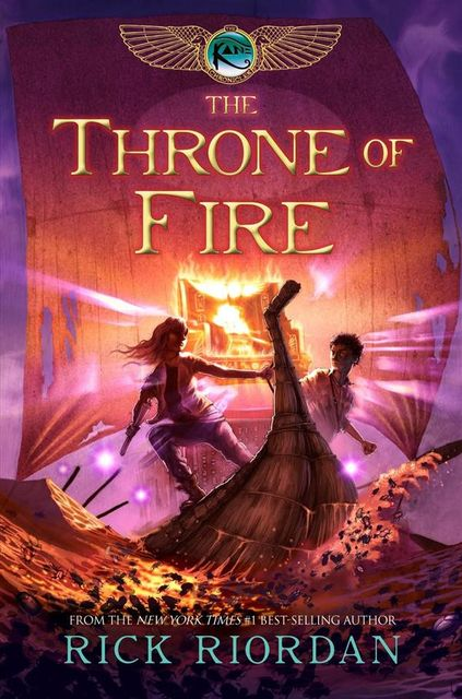 The Throne of Fire, Rick Riordan
