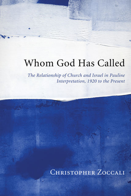 Whom God Has Called, Christopher Zoccali