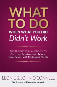 What to Do When What You Did Didn't Work, John O'Connell, Leonie O'Connell