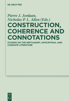 Construction, Coherence and Connotations, Walter de Gruyter
