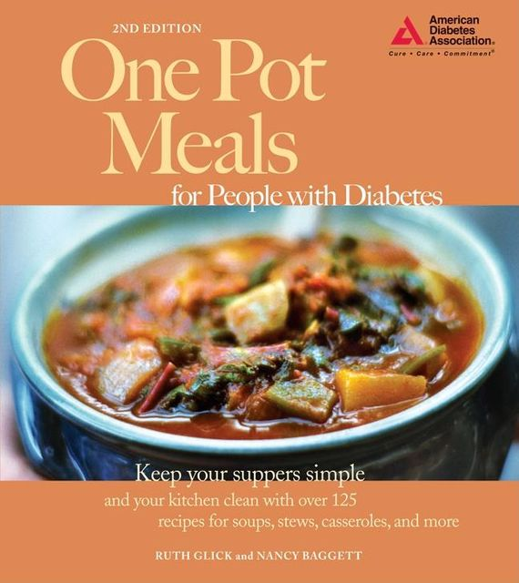 One Pot Meals for People with Diabetes, Nancy Baggett, Ruth Glick
