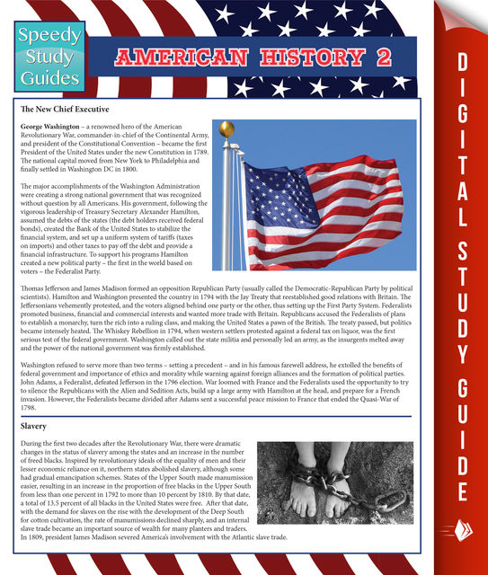 American History 2 (Speedy Study Guides), Speedy Publishing