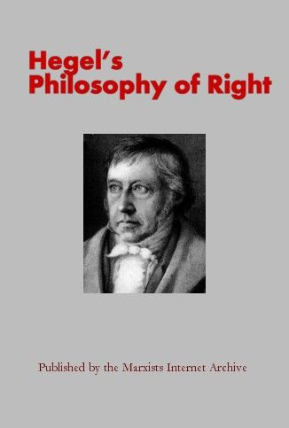 The Philosophy of Right, Hegel