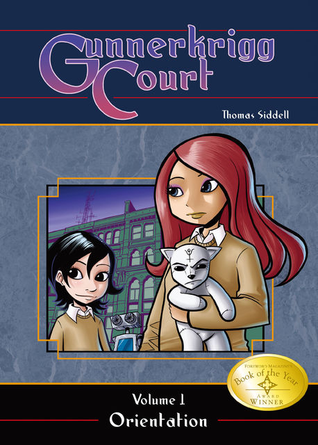 Gunnerkrigg Court Vol. 1: Orientation, Thomas Siddell