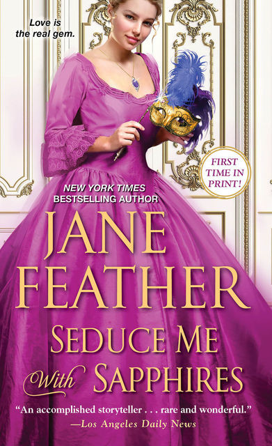 Seduce Me with Sapphires, Jane Feather