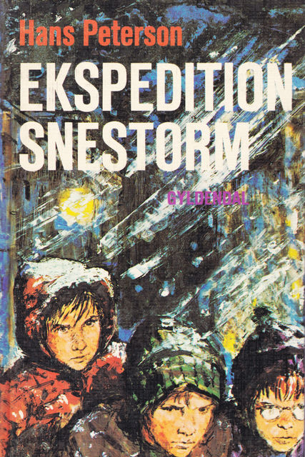 Ekspedition Snestorm, Hans Peterson
