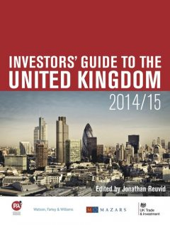 Investors' Guide to the United Kingdom 2014/15, Jonathan Reuvid
