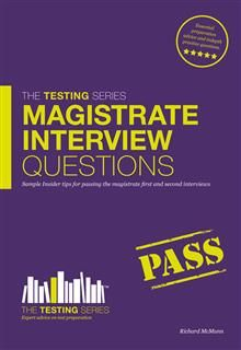 Magistrate Interview Questions, Richard McMunn