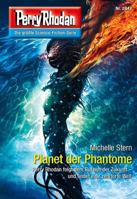 Perry Rhodan 2847: Planet der Phantome, Michelle Stern
