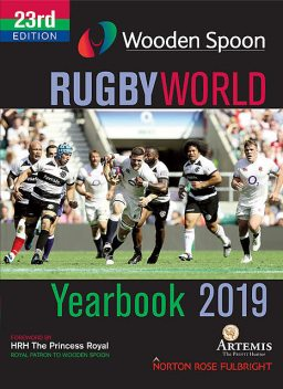 Wooden Spoon Rugby World Yearbook 2019, Ian Robertson