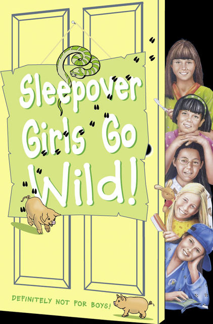 Sleepover Girls Go Wild! (The Sleepover Club, Book 40), Ginny Deals