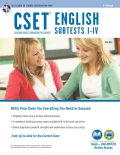 CSET English Subtests I-IV Book + Online, Editors of REA, John Allen