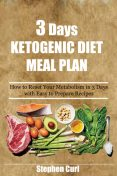 3 Days Ketogenic Diet Meal Plan, Stephen Curl