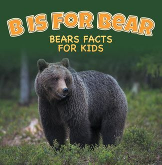 B is for Bear: Bears Facts For Kids, Baby Professor