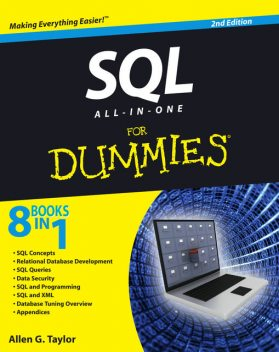 SQL All-In-One For Dummies, 2nd Edition, Allen G., Taylor