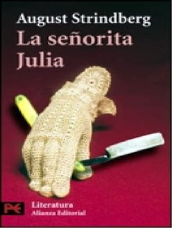 La Señorita Julia, August Strindberg
