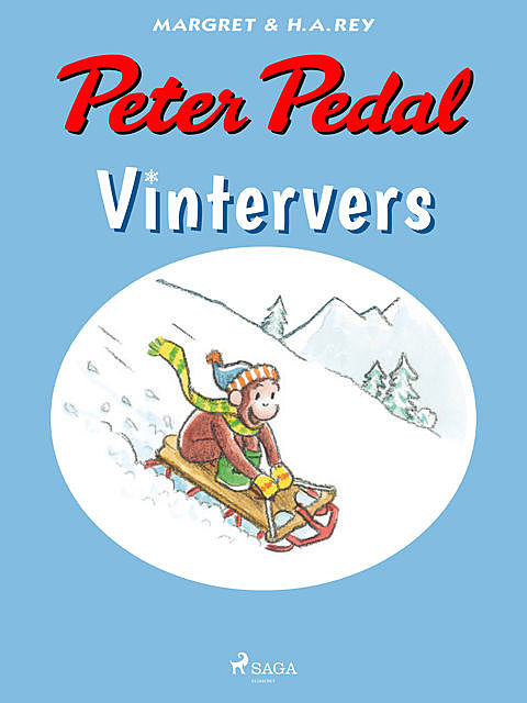 Peter Pedal – Vintervers, H.A. Rey