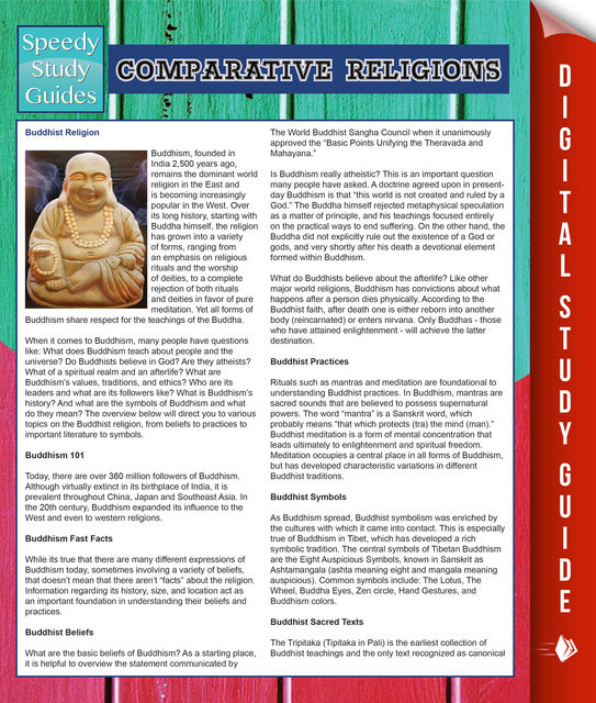 Comparative Religions (Speedy Study Guides), Speedy Publishing