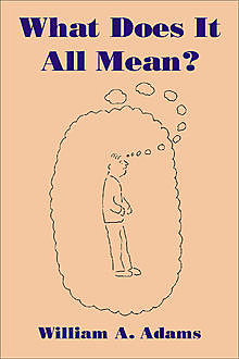What Does It All Mean?, William A. Adams