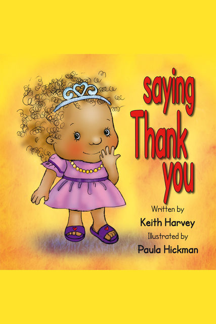 Saying Thank You, Keith Harvey