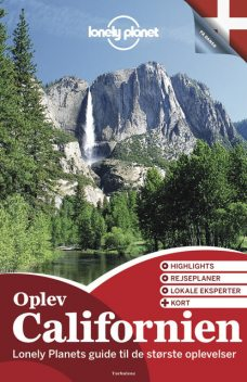 Lonely Planet Discover Oplev Californien, Lonely Planet