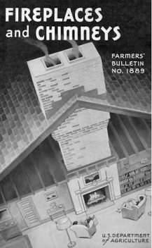 Fireplaces and Chimneys – Farmers' Bulletin 1889, T.A. H. Miller