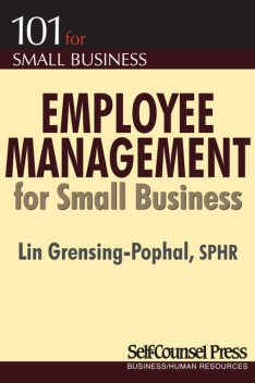 Employee Management for Small Business, Lin Grensing-Pophal