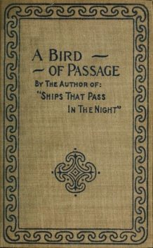 A Bird of Passage and Other Stories, Beatrice Harraden