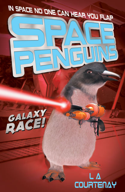 Space Penguins Galaxy Race, Lucy Courtenay