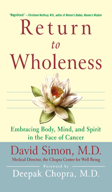 Return to Wholeness, David Simon