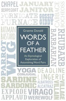 Words of a Feather – An Etymological Explanation of Astonishing Word Pairs, Graeme Donald