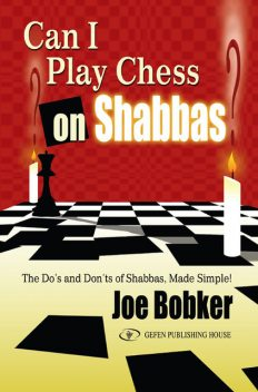 Can I Play Chess on Shabbas, Joe Bobker