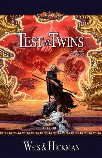 DragonLance Legender #3: Test of the Twins, Margaret Weis, Tracy Hickman