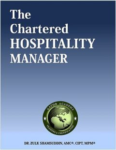 The Chartered Hospitality Manager, Zulk Shamsuddin