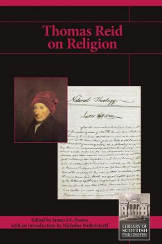 Thomas Reid on Religion, James Foster