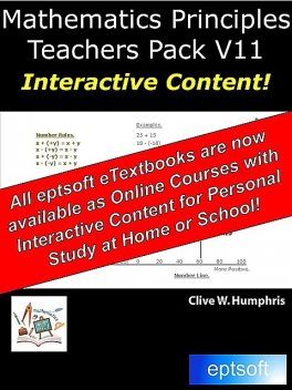Mathematics Principles Teachers Pack V10, Clive W.Humphris