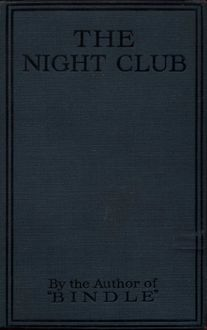 The Night Club, Herbert George Jenkins