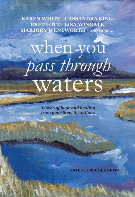 When You Pass Through Waters, Karen White, Marjory Wentworth, Cassandra King, Michael Bassett, Sarah Thomas, Julie Cantrell, Denise Hildreth Jones, Eva Marie Everson, Nicole Seitz, Bret Lott, Jolina Petersheim, Lisa Wingate, Batt Humphreys, Dianne Miley, Dorothy McFalls, Fred Bassett, Shellie Rushing Tomlinson, Signe Pike