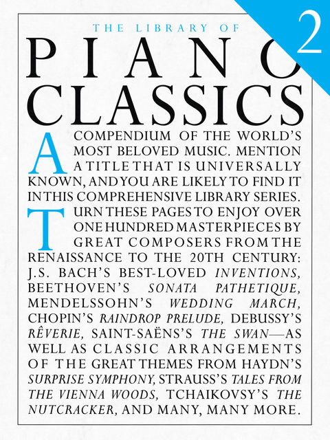 The Library Of Piano Classics Book 2, Wise Publications