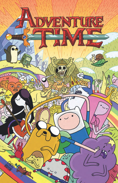 Adventure Time, Volume 1, Shelli Paroline